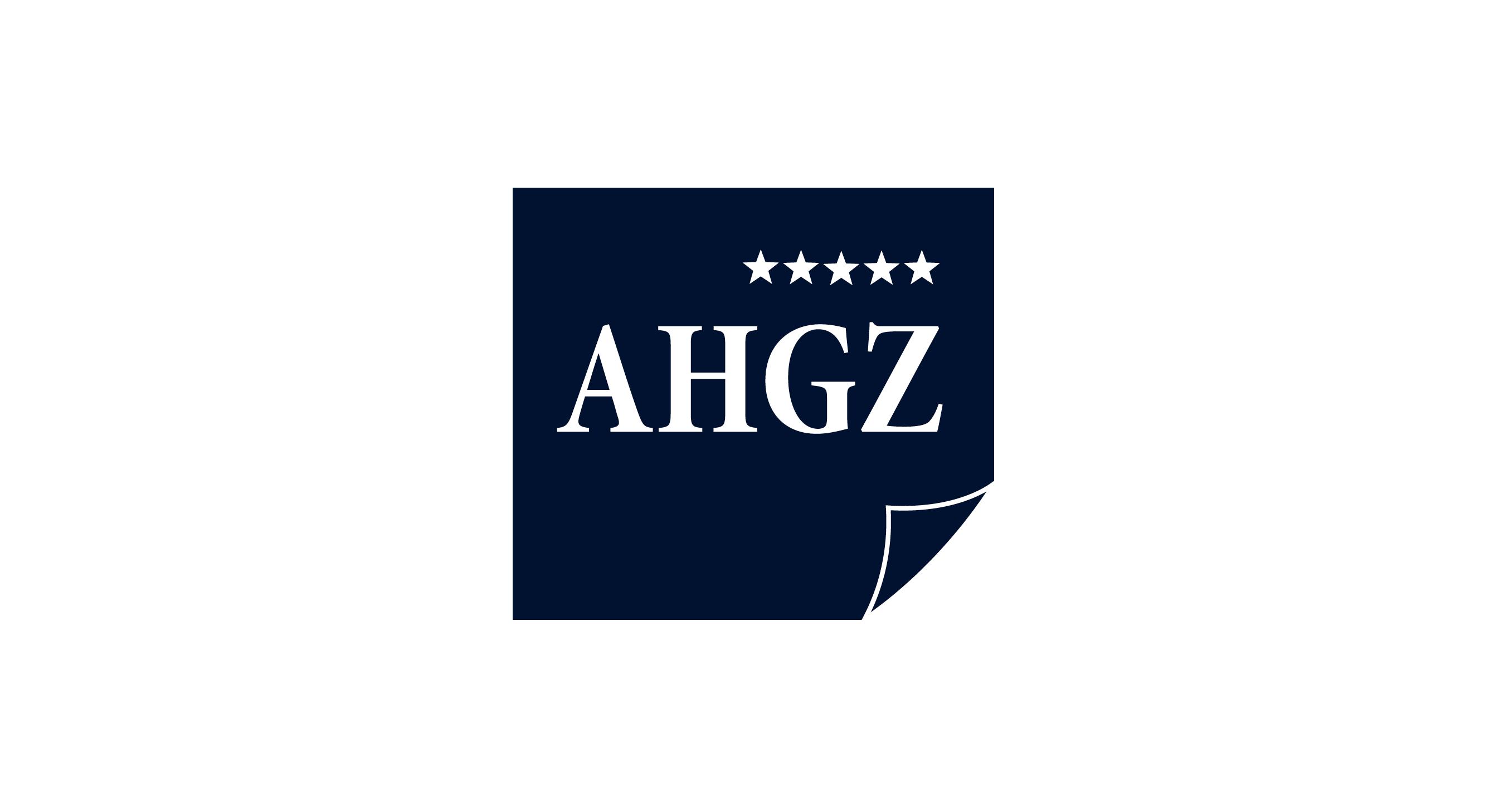 AHGZ logo blue