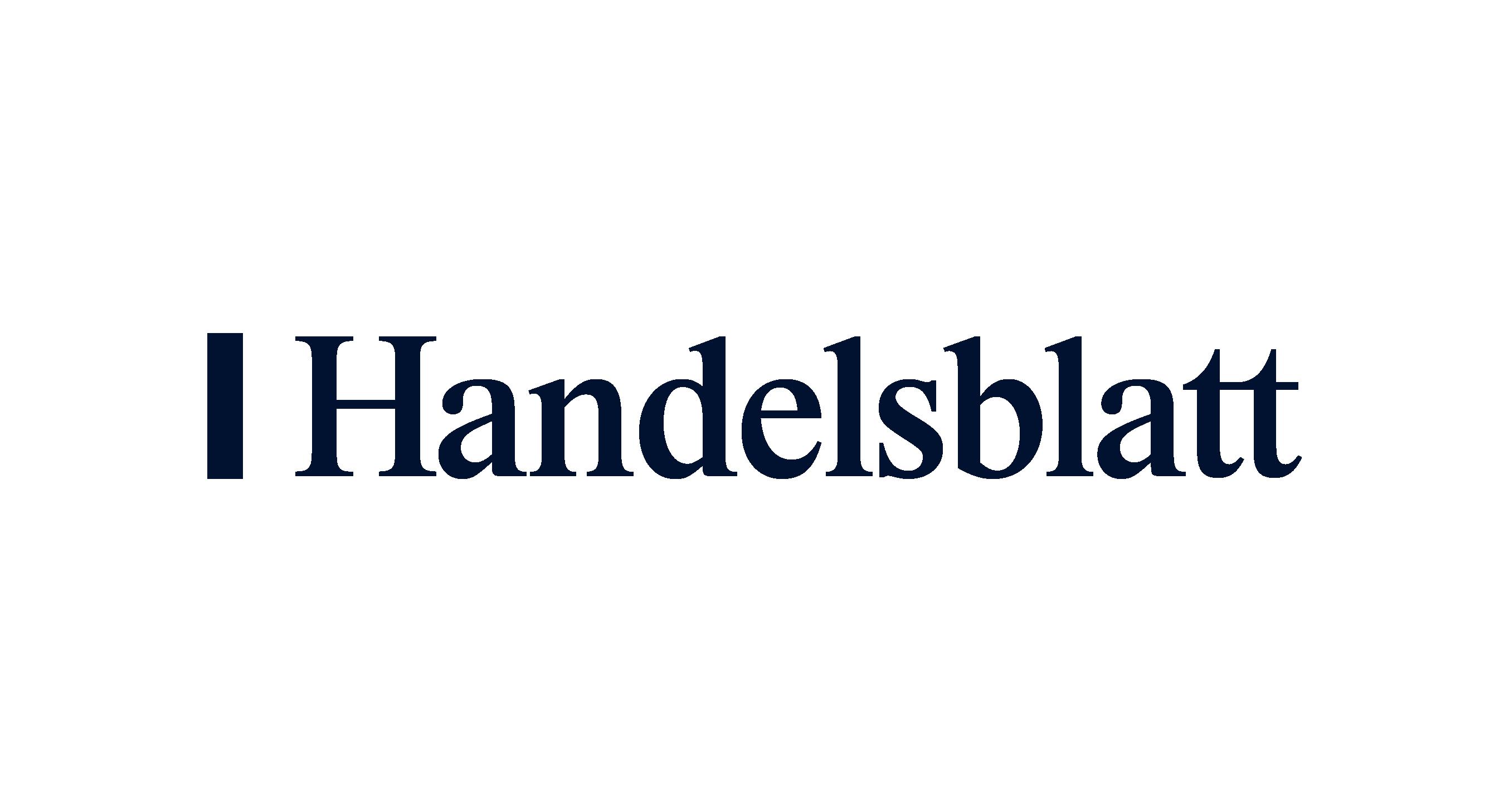 Handelsblatt logo blue