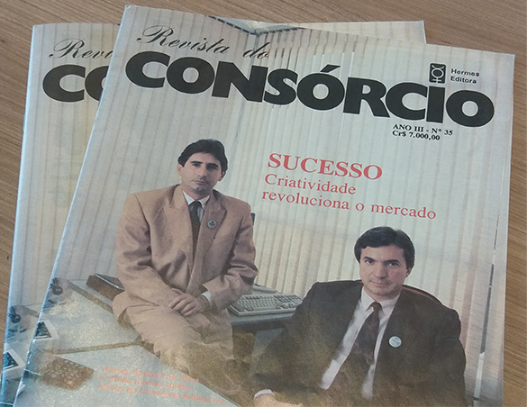 1992 - Capa da revista do Consórcio - Embracon
