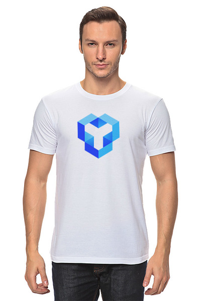 YouHodler 남자 티셔츠 화이트