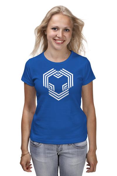 YouHodler 여자 티셔츠 딥 블루