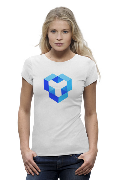 YouHodler 여자 티셔츠 화이트