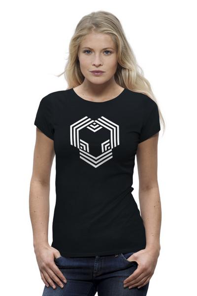 YouHodler 여자 티셔츠 블랙
