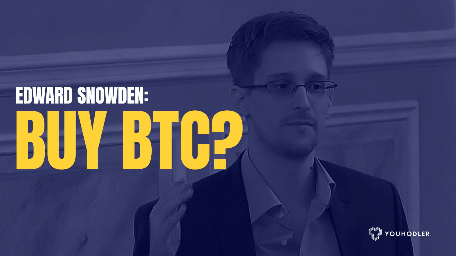 Edward Snowden, bitcoin, buyBTC, corona, crypto lending platform