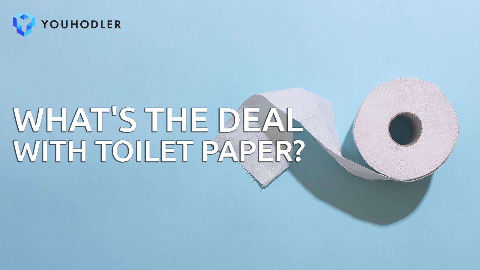 Toilet paper, COVID19, coronavirus, bitcoin, crypto lending platform, crypto market, stock market