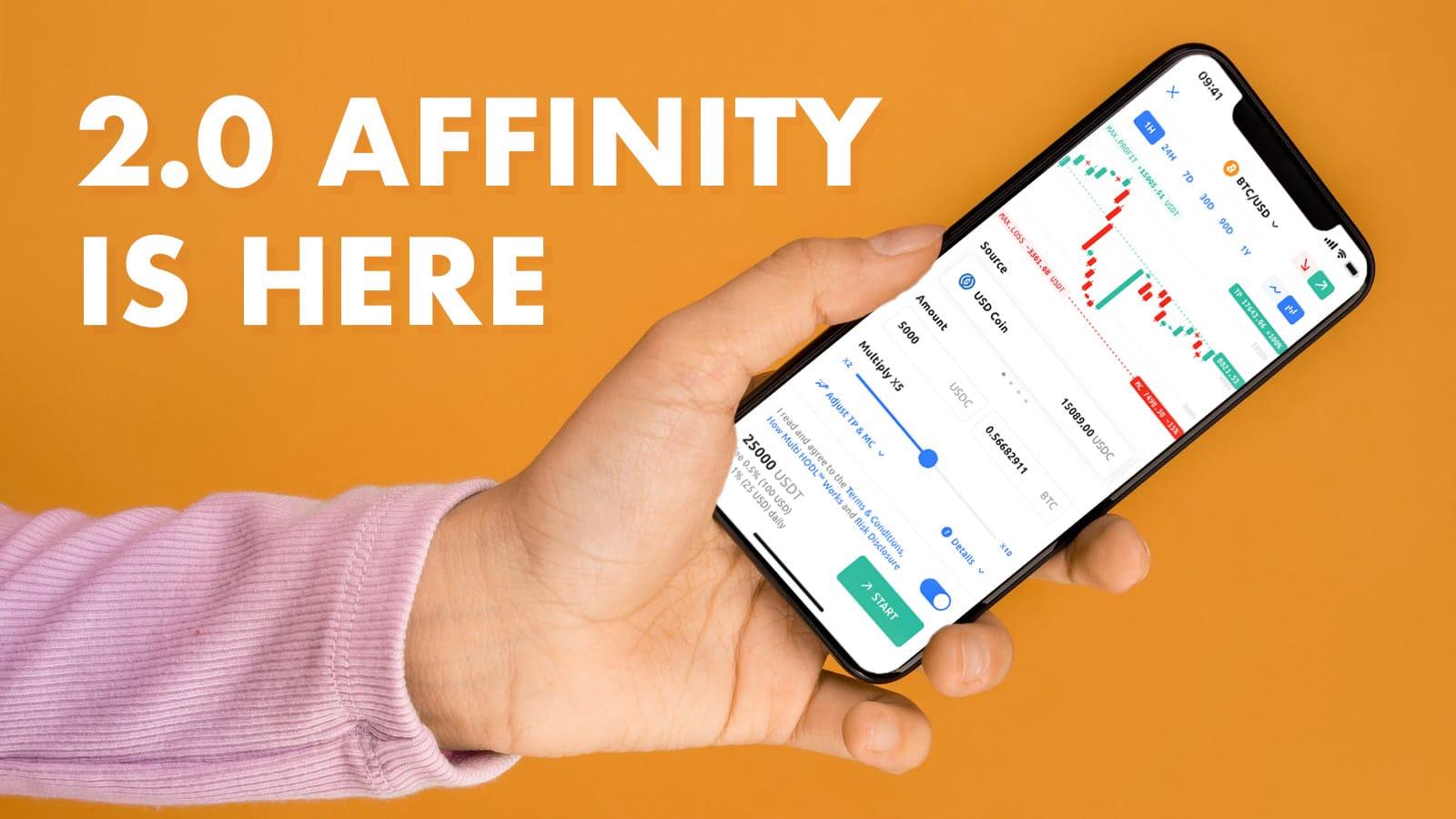 affinity, ethereum, bitcoin, BTC, ETH, crypto, crypto loans, cryptocurrency lending, DeFi, Fintech
