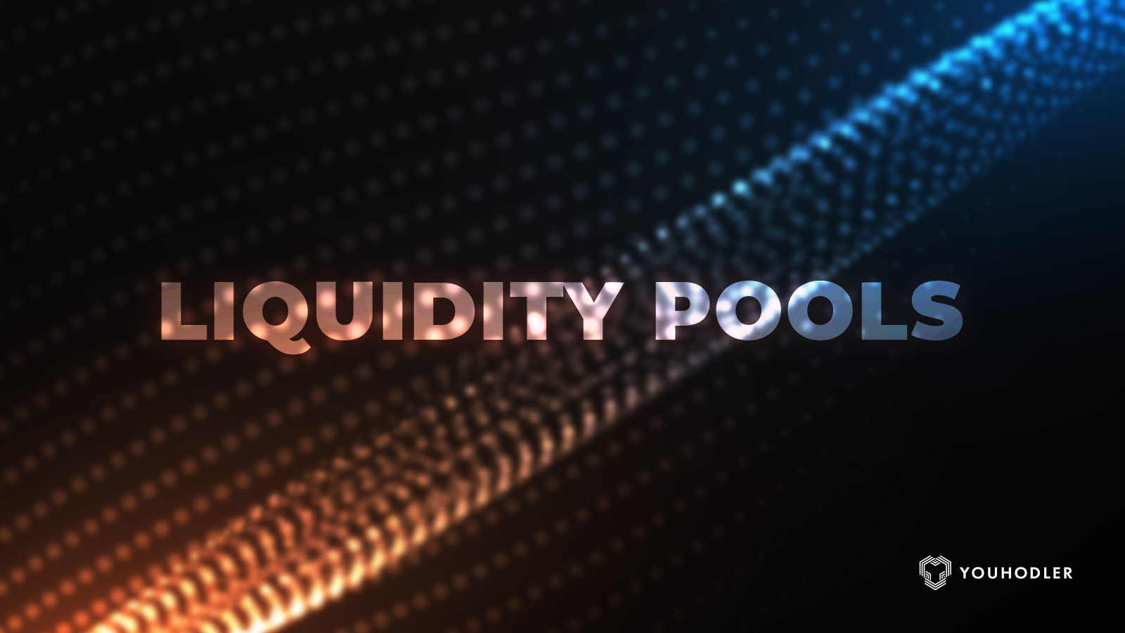 "text saying ""liquidity pools"" over a psychedelic background."