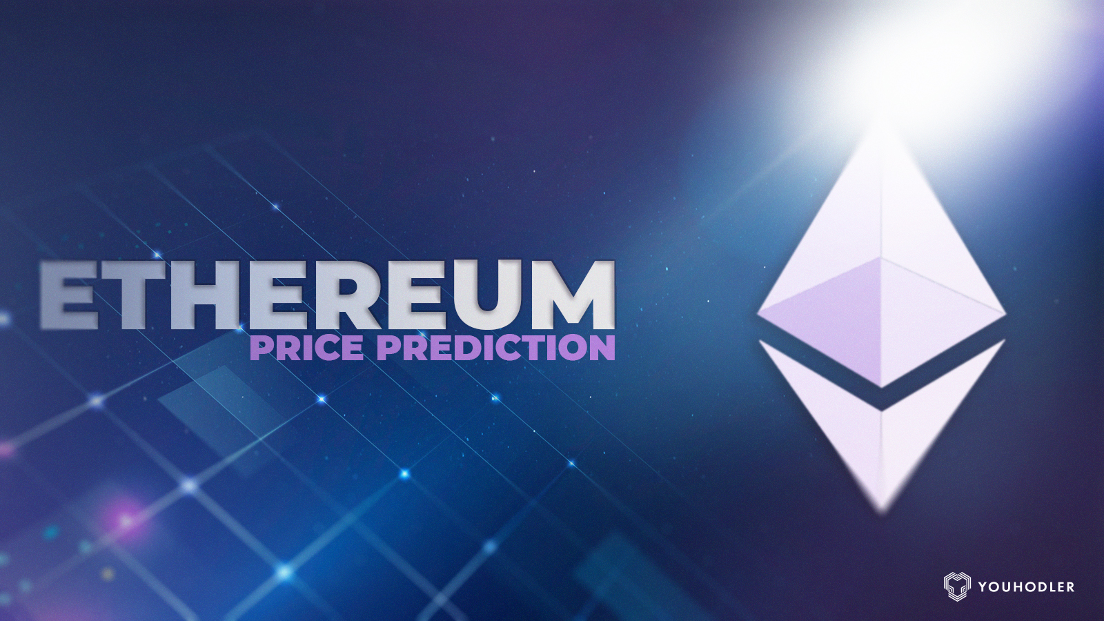 """an image with text saying """"ethereum price prediction"""