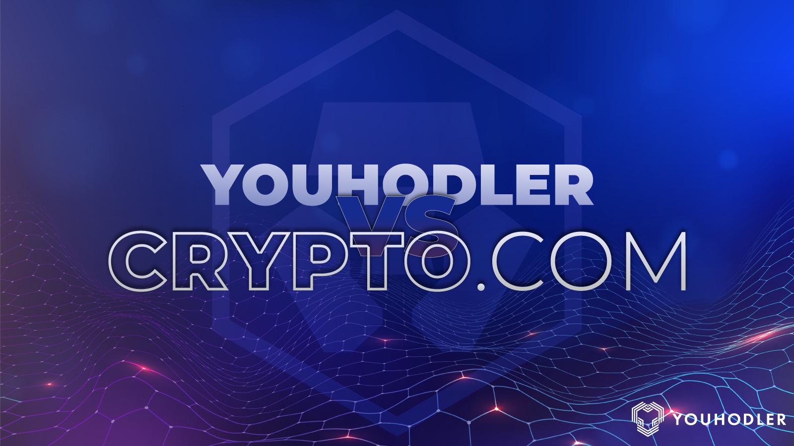 YouHodler vs. Crypto.com logos
