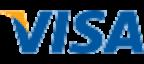 VISA card payment logo