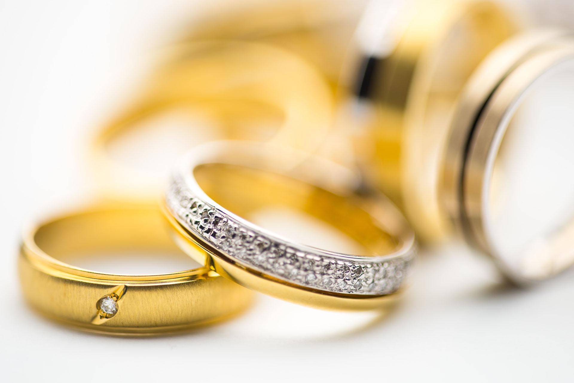 Jewelry diamond rings