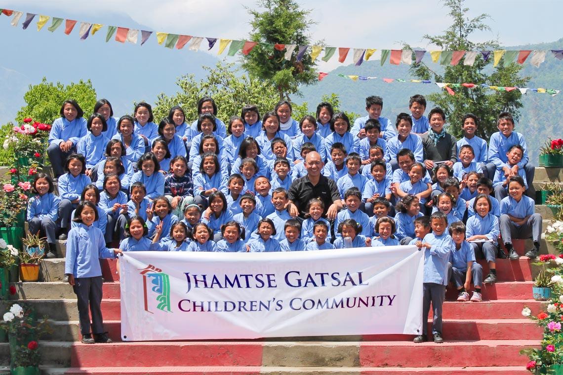 Jhamtse Gatsal charity logo
