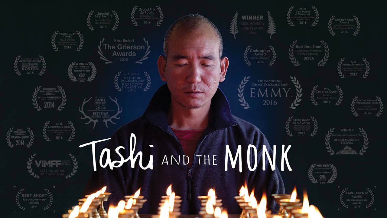 Tashi and the Monk movie cover image