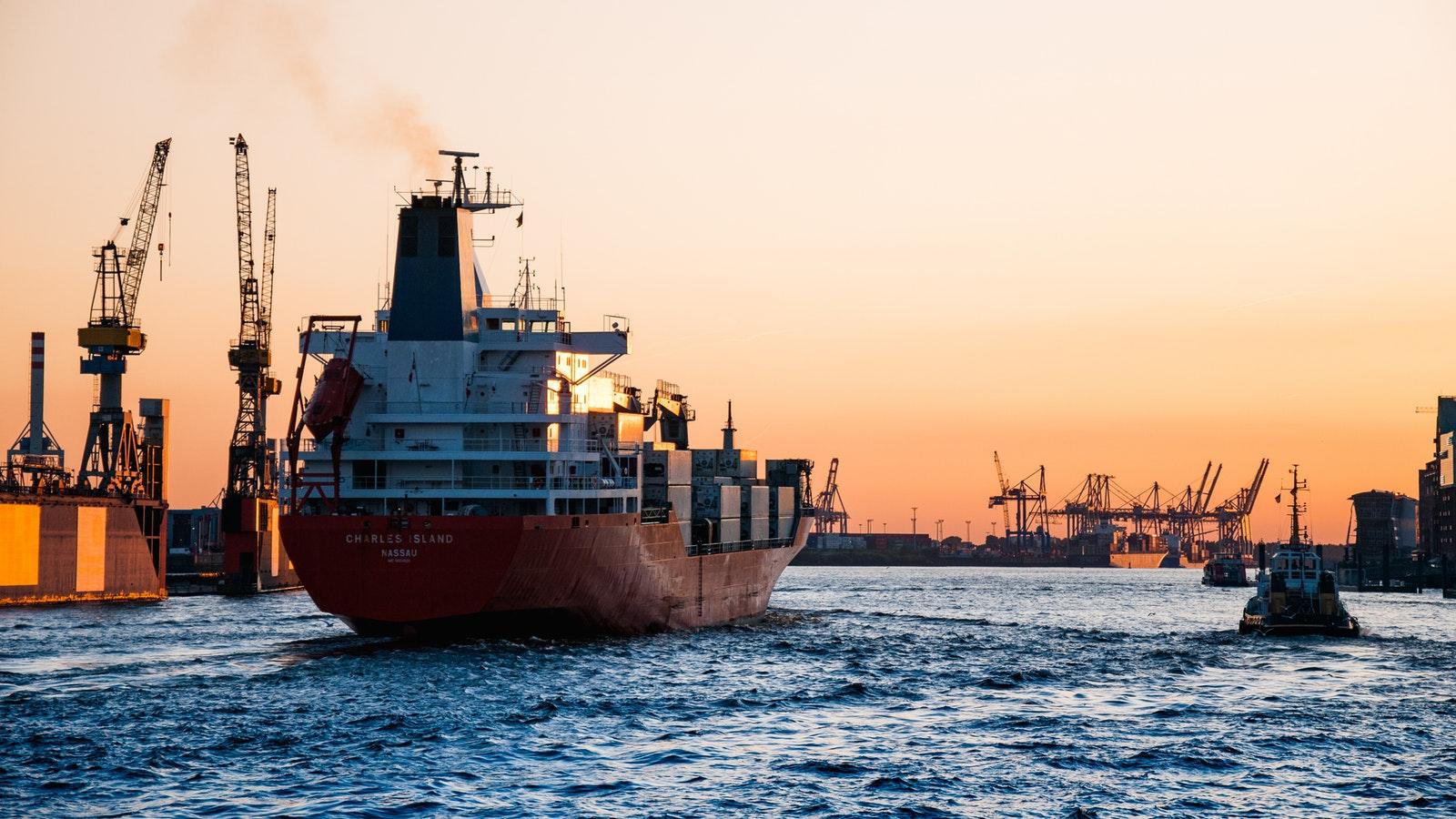 Bilde av skip