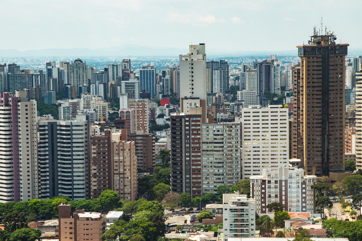 Curitiba é a melhor capital brasileira para se morar