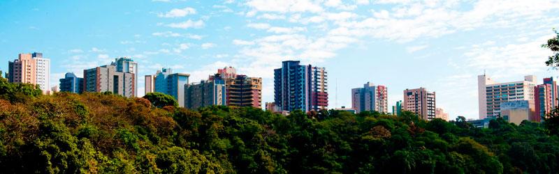 10 melhores cidades brasileiras para viver em custo de metro quadrado.
