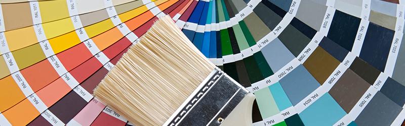Como escolher as cores de tintas para os ambientes da casa?