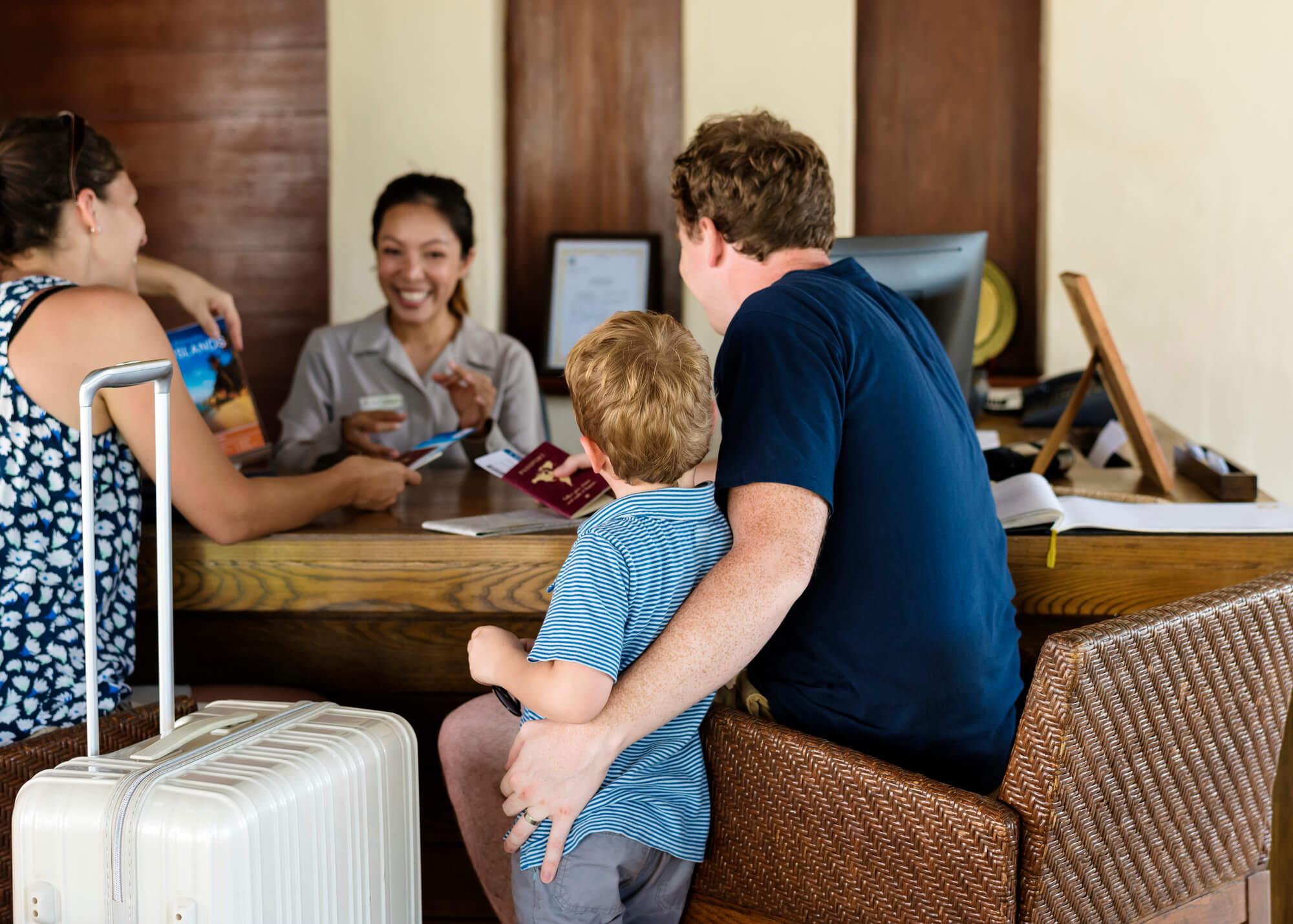 Entenda como escolher um bom hotel para viagens em família