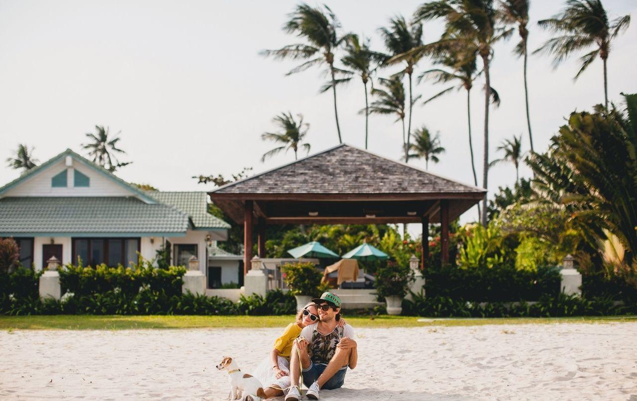 Comprar uma casa na praia à vista