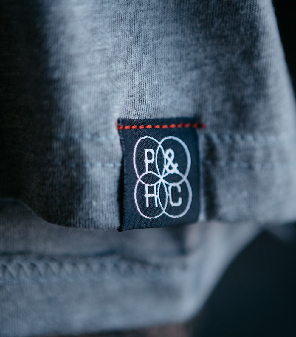 Custom hem tags are a unique and trendy way to show off your design.