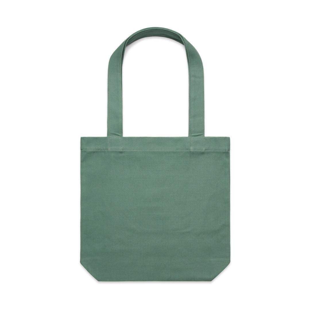 Sage green tote bag