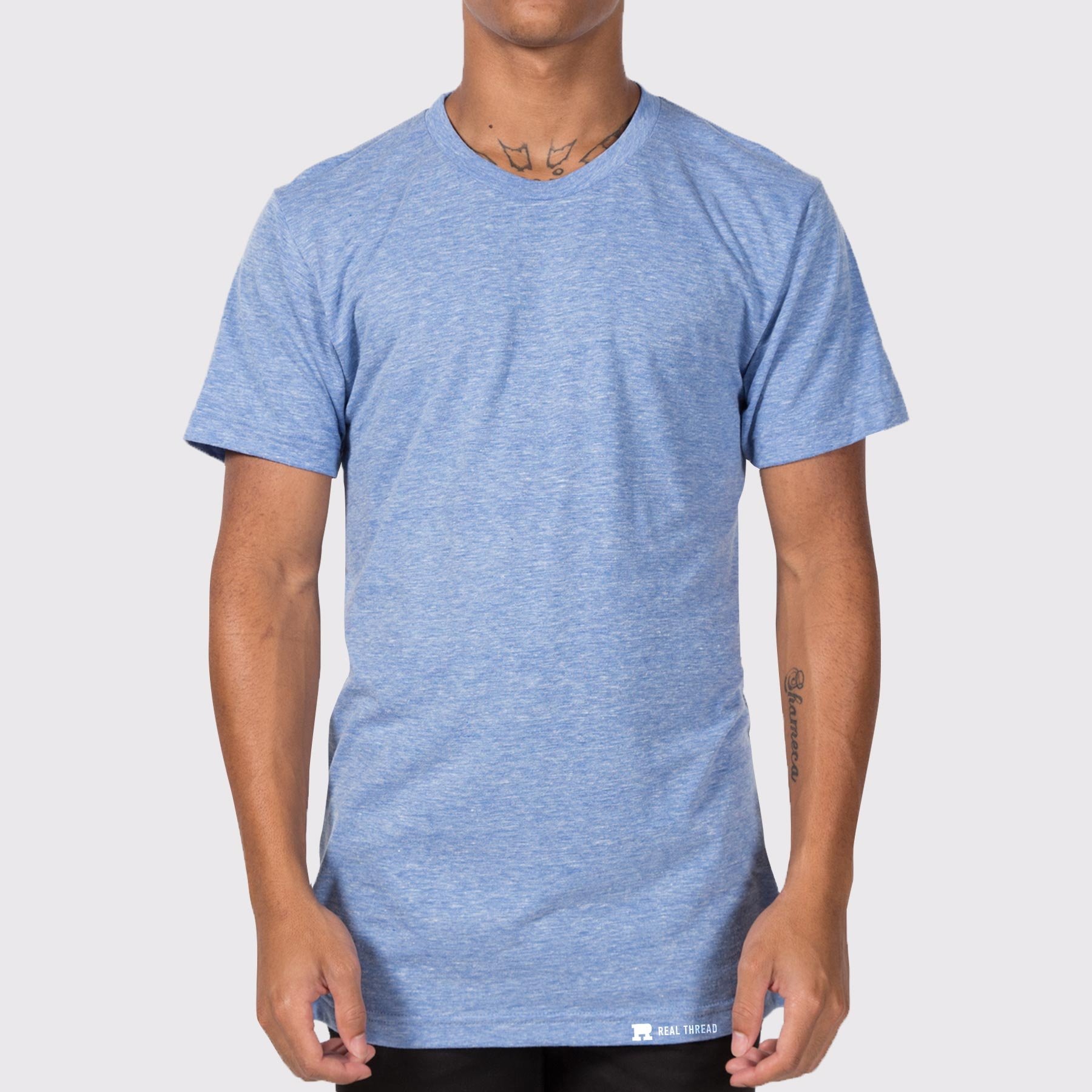 American Apparel TR401 Tri-blend Template Modeled