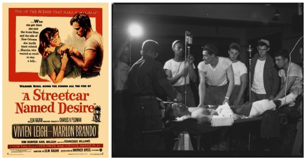 A streetcar named desire and men in t-shirts
