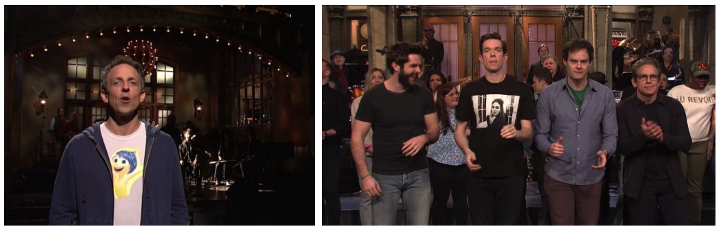 t-shirts at SNL