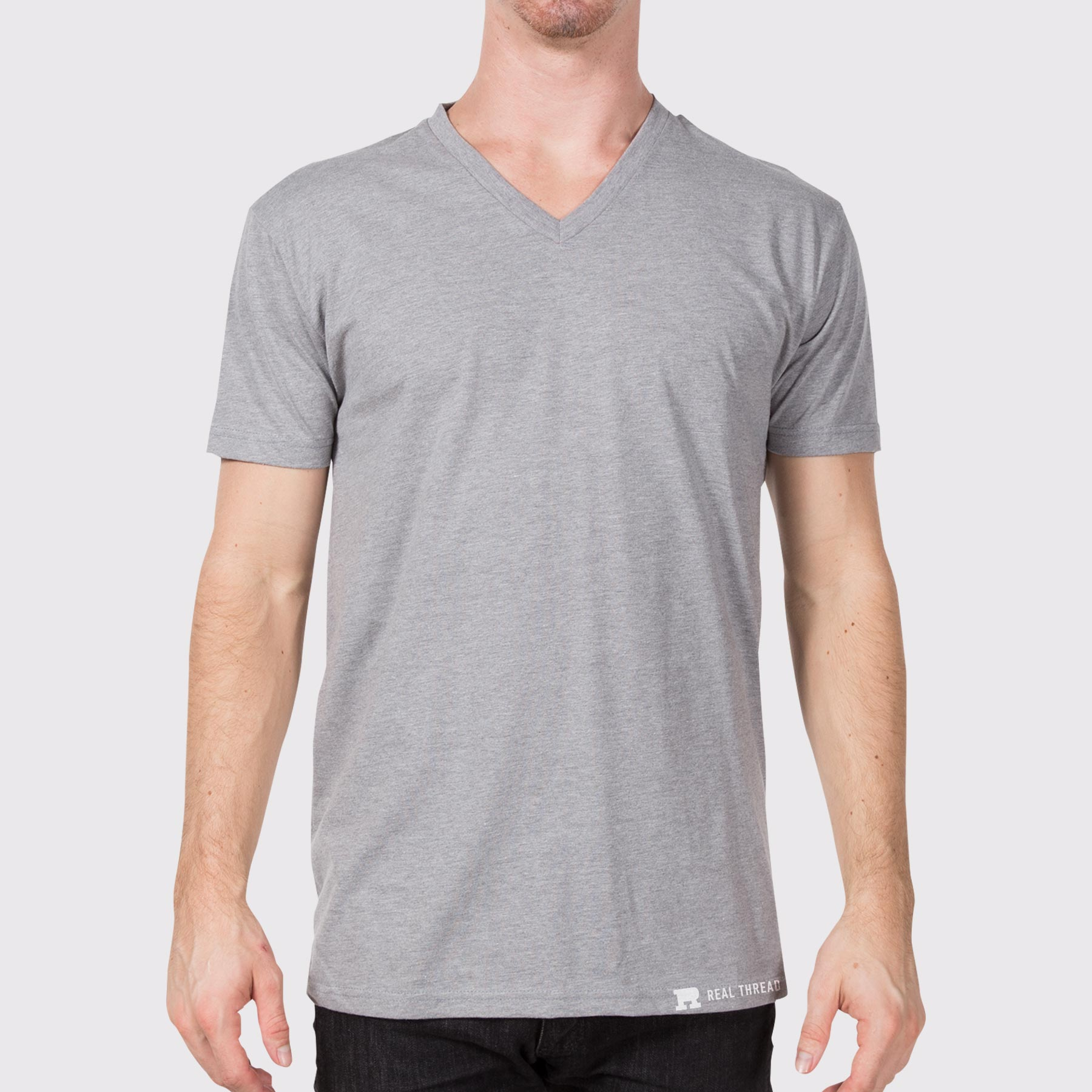 Next Level Apparel 6240 V-Neck Modeled