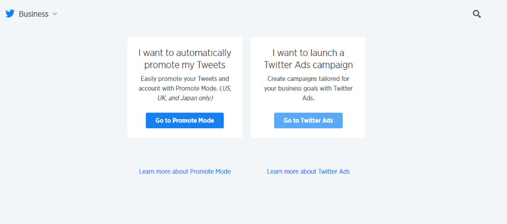 paid social advertising screenshot