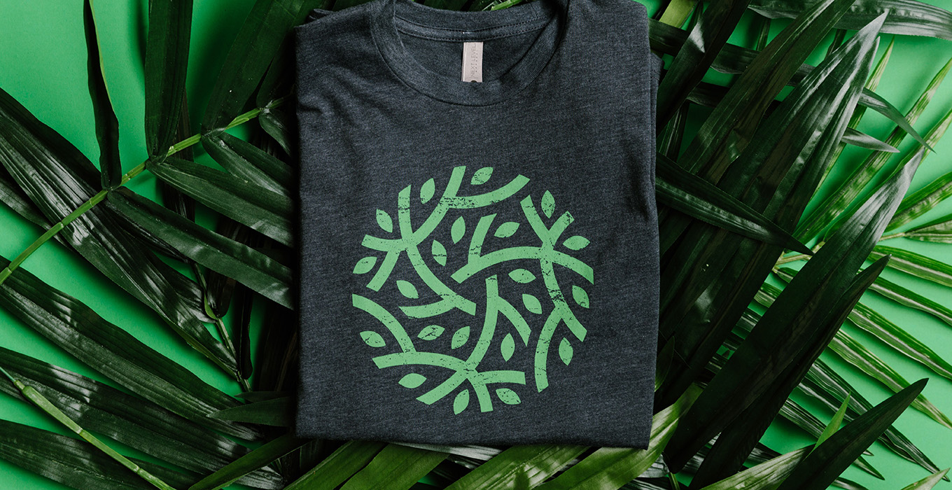 Eco-friendly custom t-shirts
