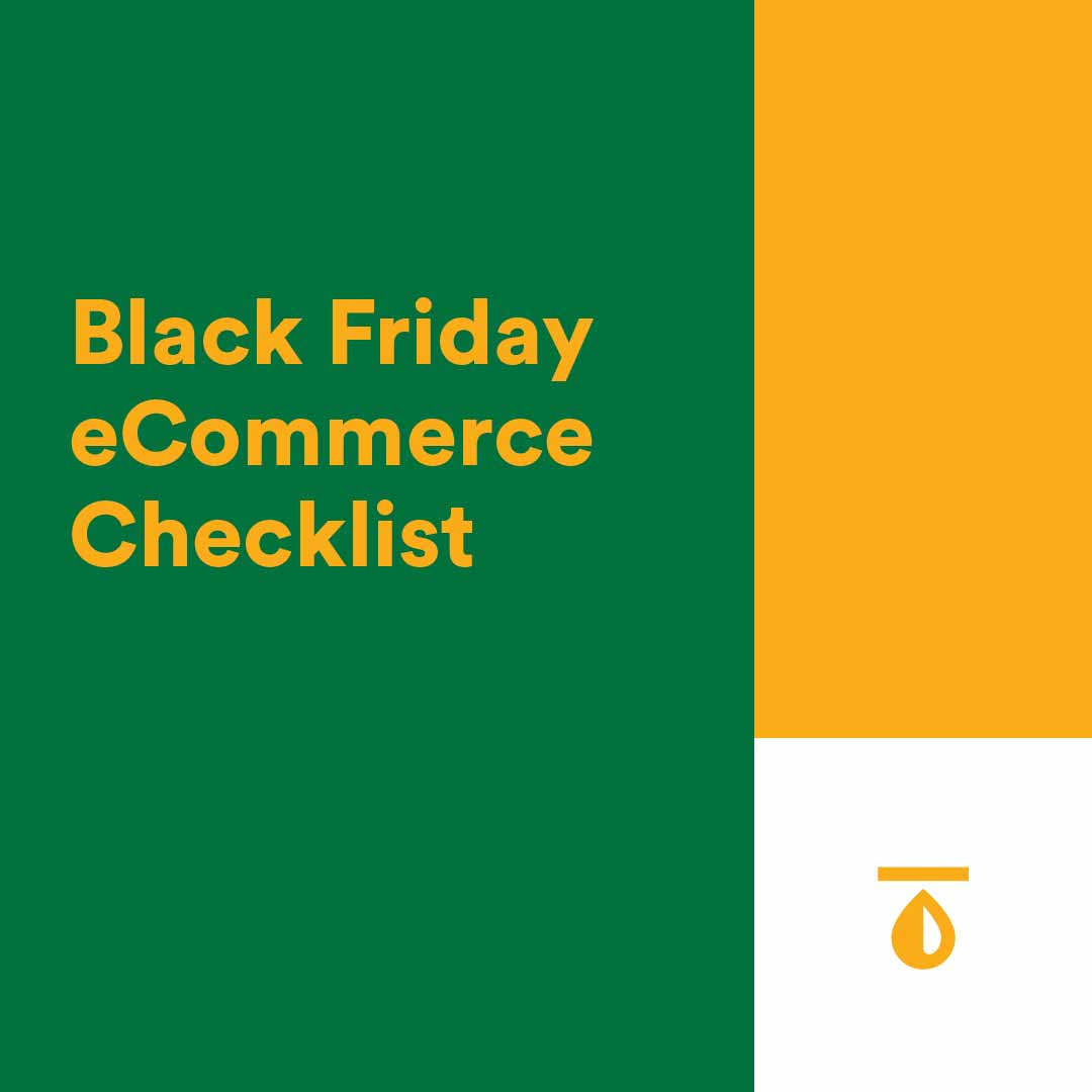 Black Friday eCommerce Checklist