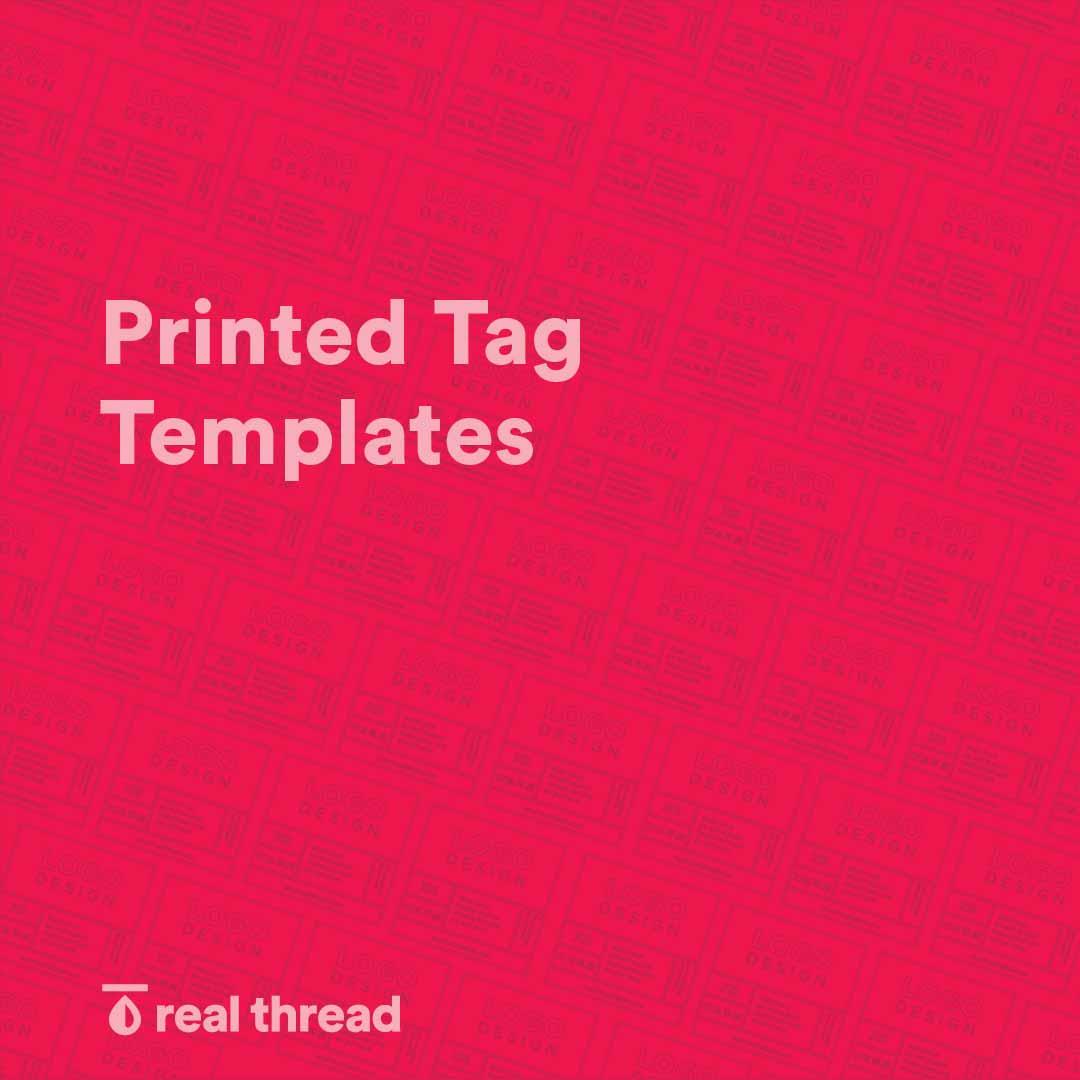 Printed Tag Templates