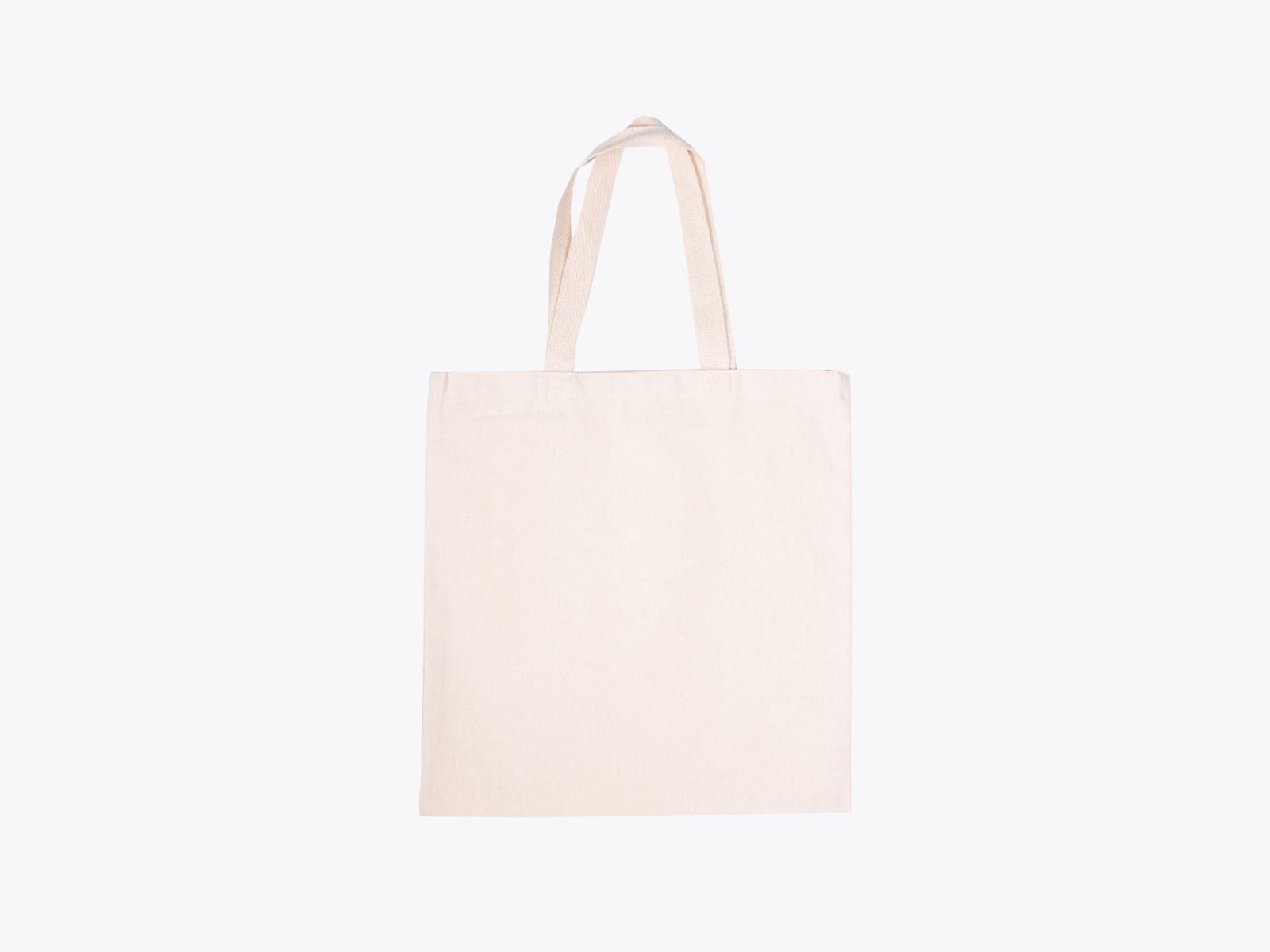 Q-Tees Q800 Promotional White Tote Bag