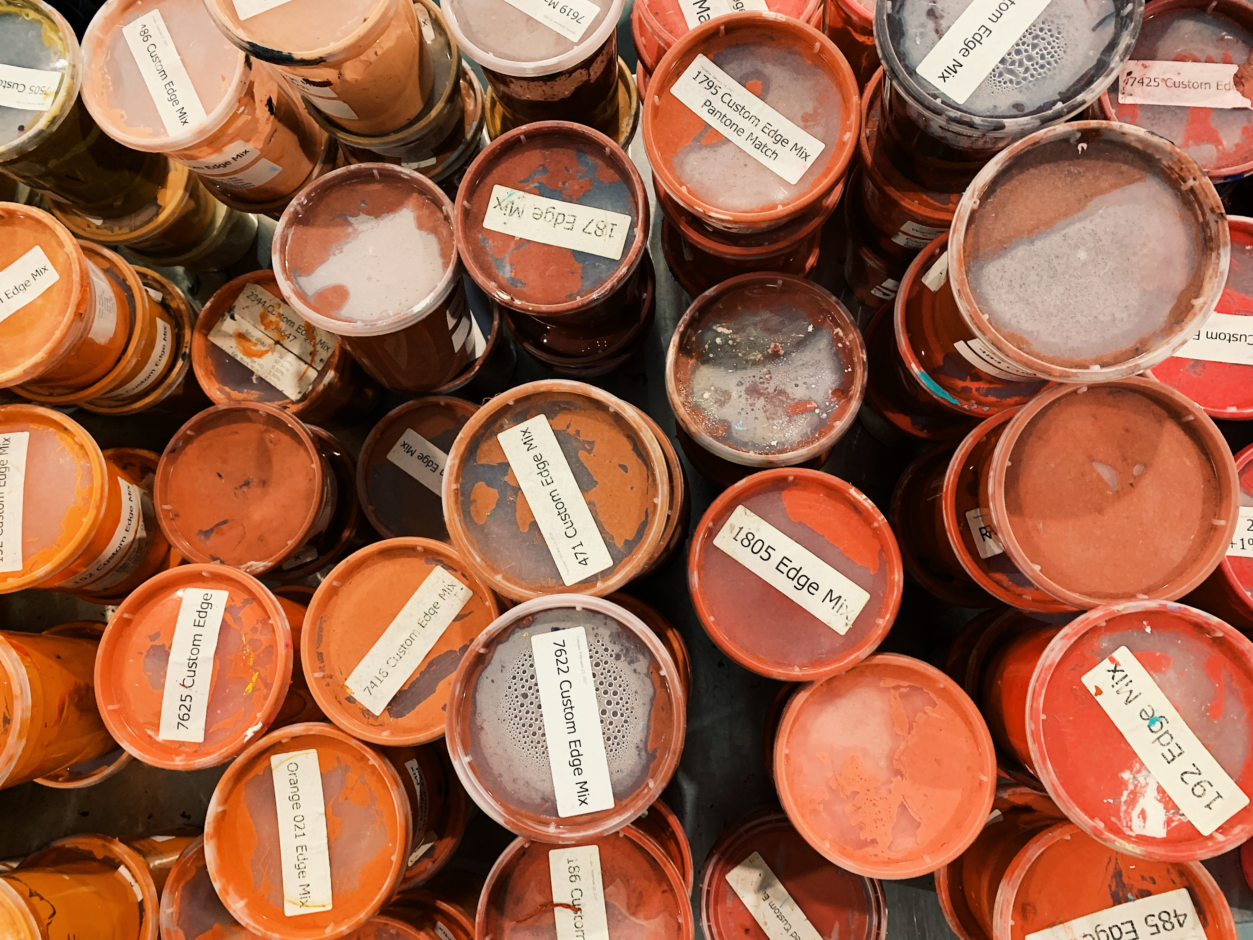 SuperSoft Reddish Waterbased Ink in Multiple Containers