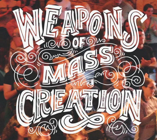 weapons of mass creation photo