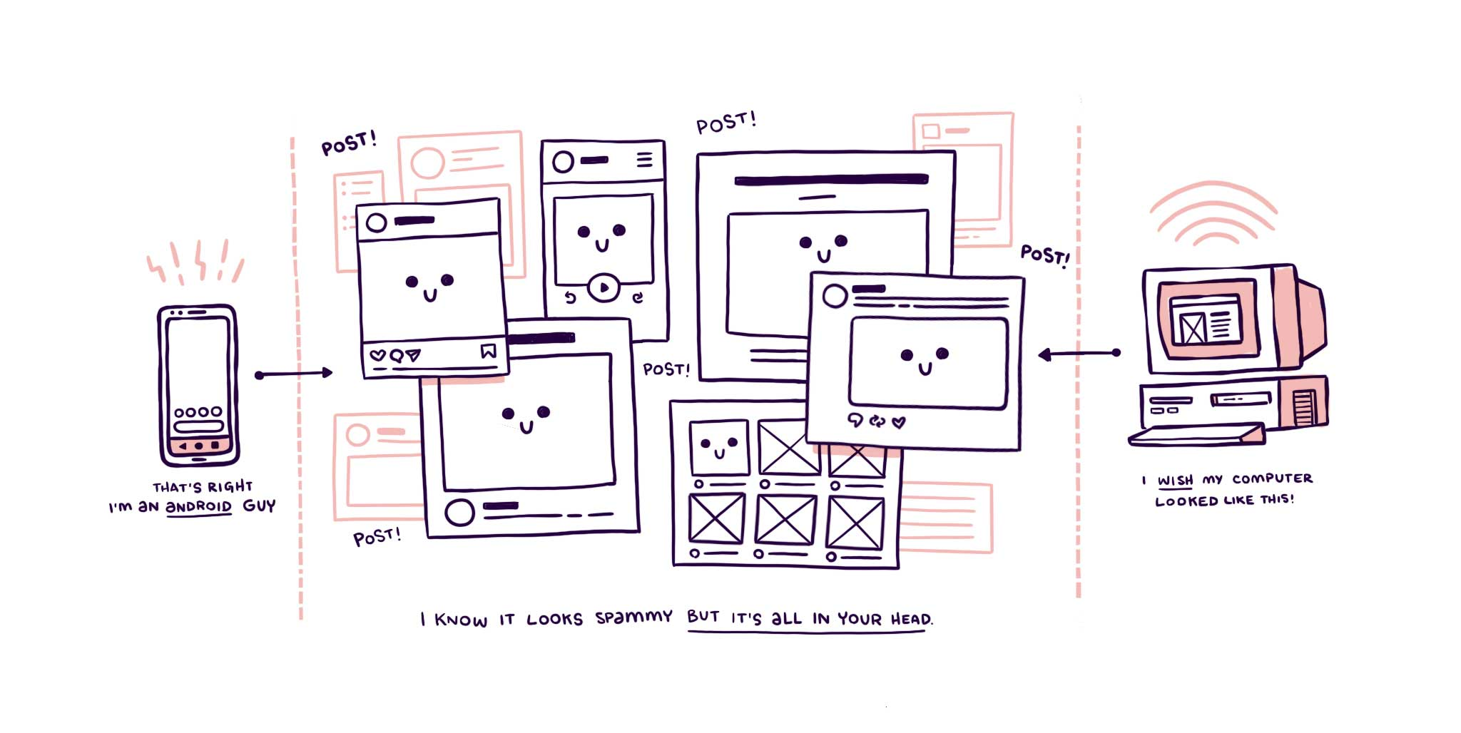 illustrated graphic
