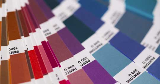 panton color book