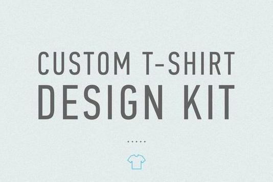 custom t-shirt design kit logo