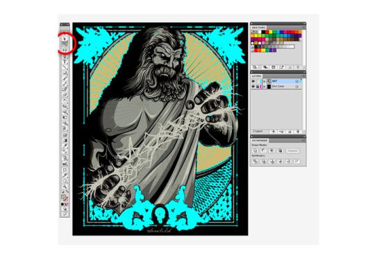 graphic screenshot