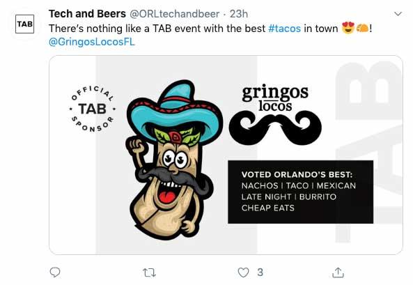 screenshot of Gringos Locos webpage