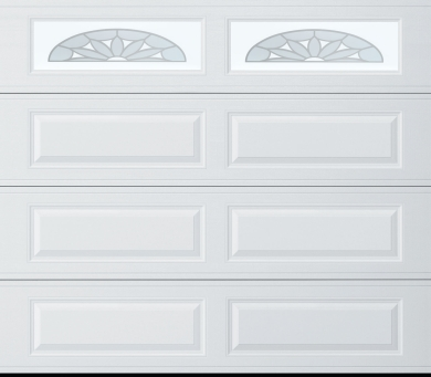 amarr traditional lincoln long panel white long panel riviera windows rw garage doors