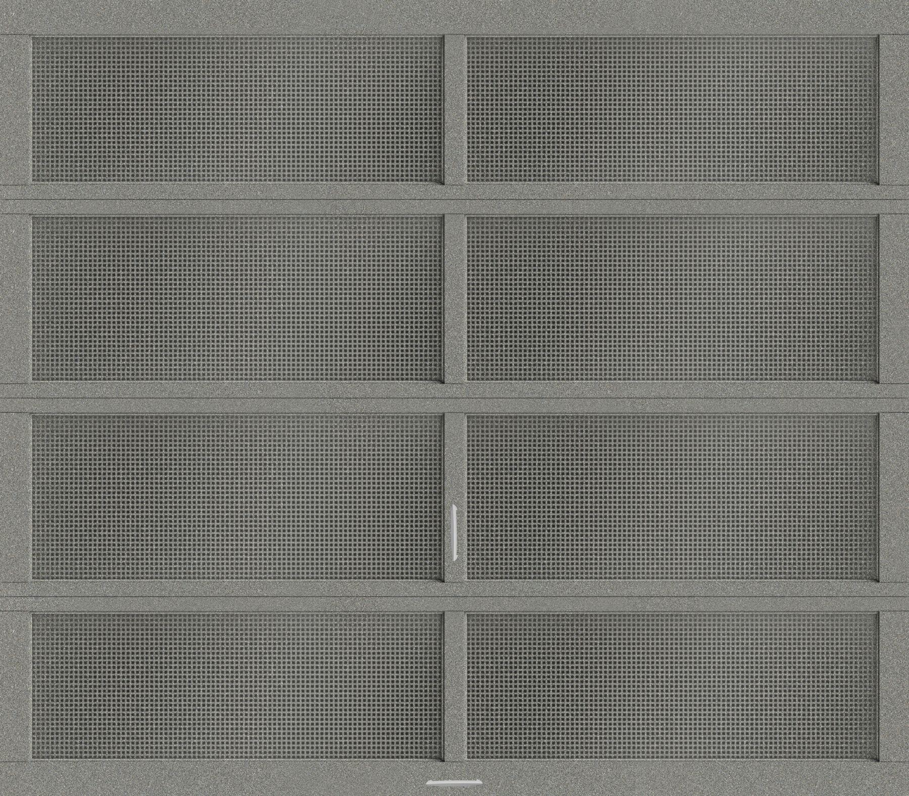 Vista Modern Glass Garage Doors