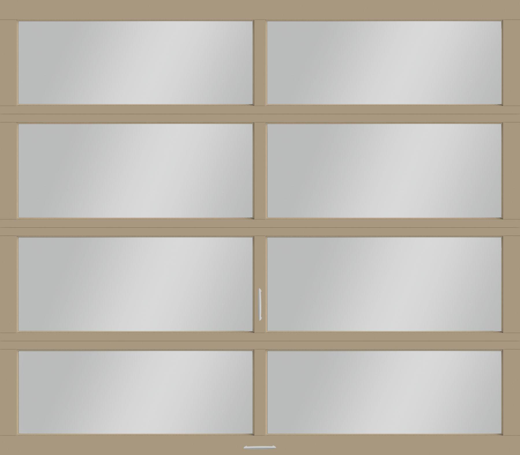 Athena Modern Glass Garage Doors RW Garage Doors