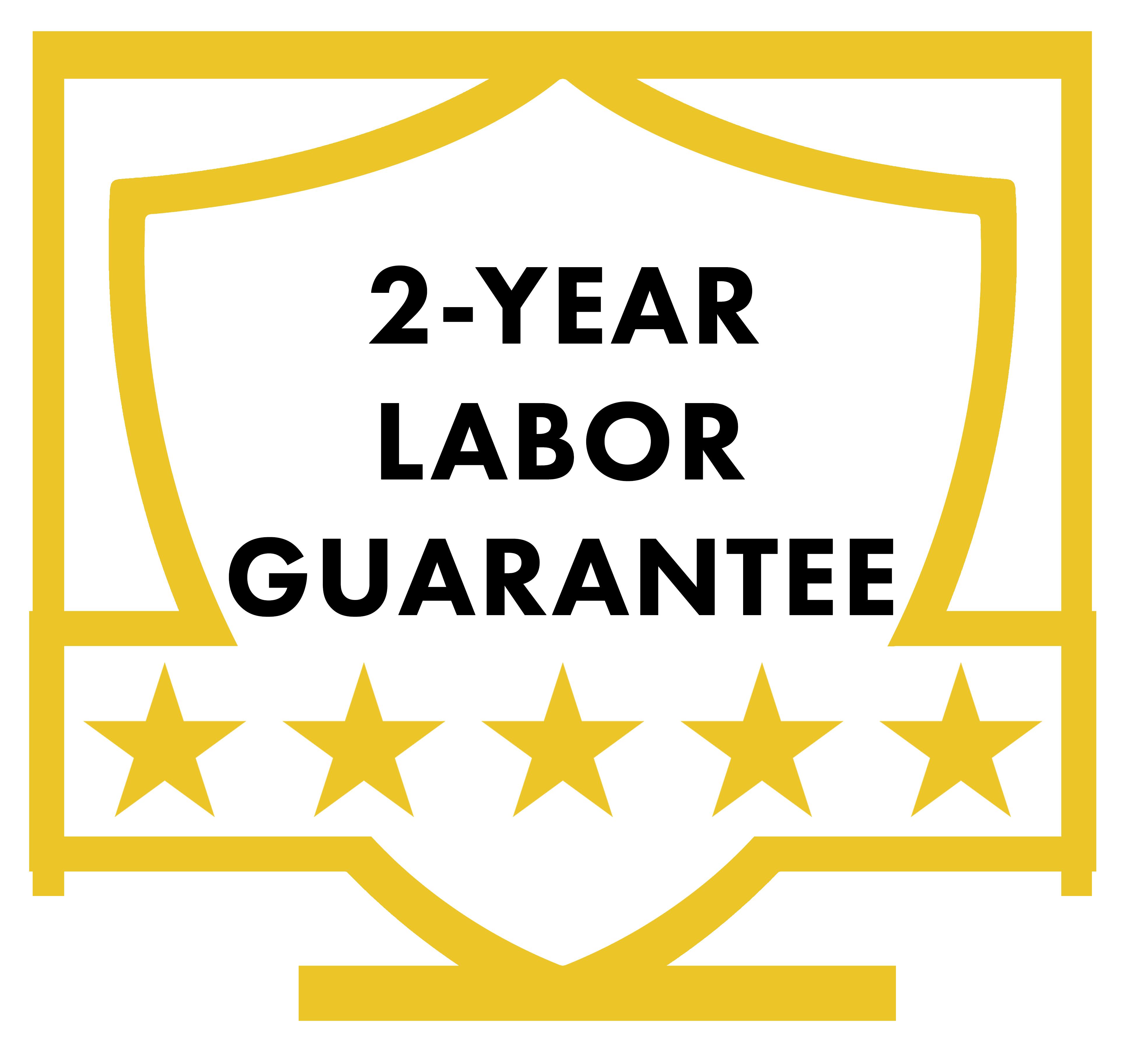 RW Difference 2 year labor guarantee RW Garage Doors