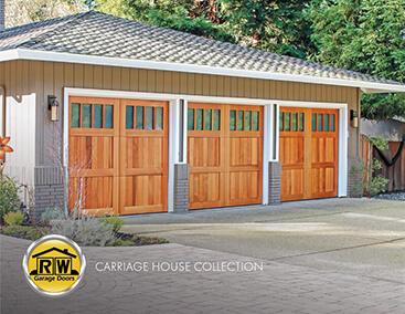 Custom Wood Carriage House Garage Door Catalog