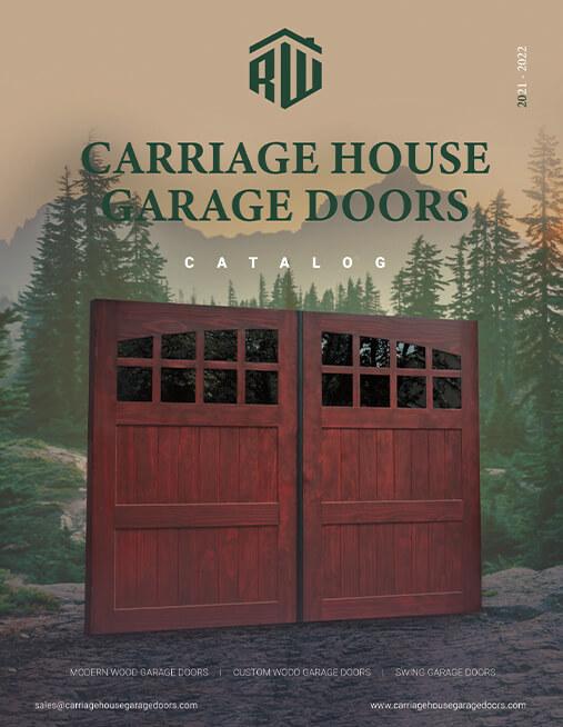 Custom Wood Carriage House Garage Door Catalog