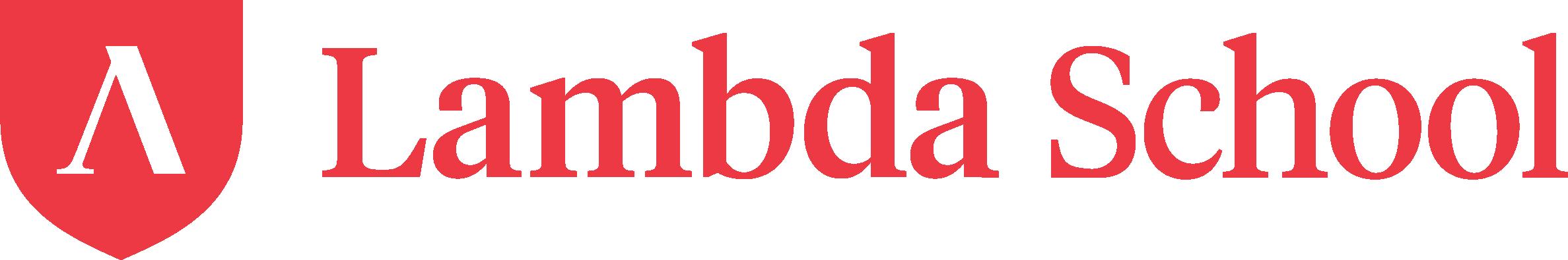 Lambda School logo.