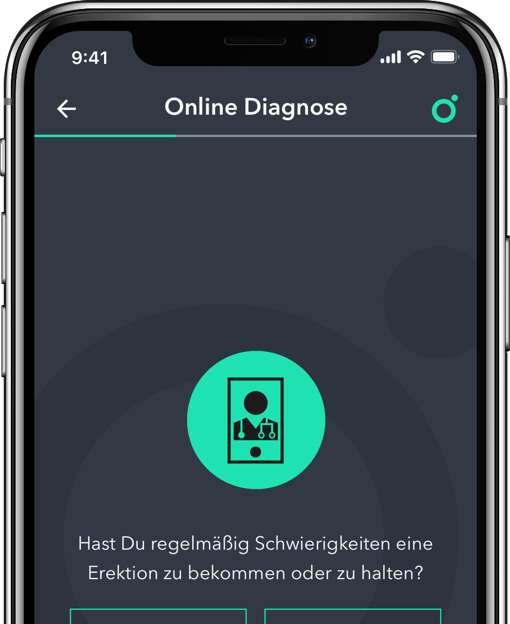 Spring Online Diagnose auf dem iPhone.