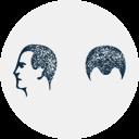 Spring Icon für strukturelle Haarstörungen.